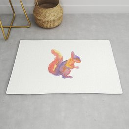 Les Animaux: Red Squirrel Rug