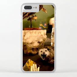 Curious Beasts Clear iPhone Case