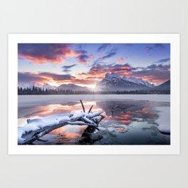 Banff Sunrise Art Print