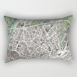 Sevilla city plan Rectangular Pillow