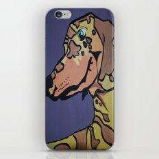 Charlie Rex Boomerang iPhone & iPod Skin