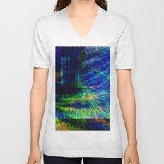 abstract geometric Unisex V-Neck