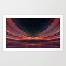 Star Streaks Art Print