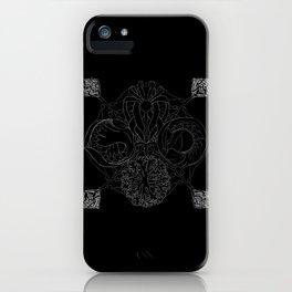The Ocean's, Chalkboard iPhone Case