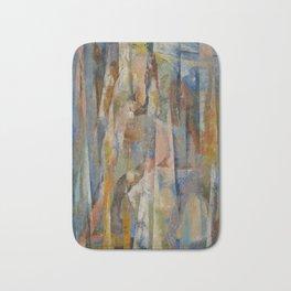 Wild Horses Abstract Bath Mat