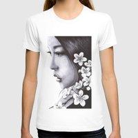 sakura T-shirts featuring Sakura by Nester Formentera