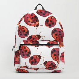 Lady bugs watercolor Backpack