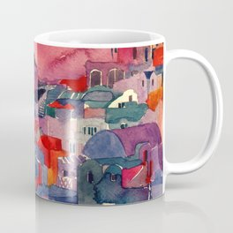 Sunset on Santorini Coffee Mug