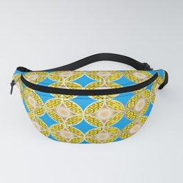 Traditional Japanese pattern SHIPPO x HANABISHI Fanny Pack