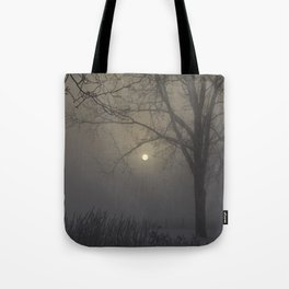 A Cold Winter Morning in Wisconsin Tote Bag