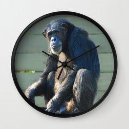 Sitting Alone Wall Clock
