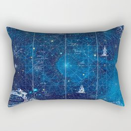 a space map (1) Rectangular Pillow