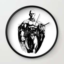 One Punch-Man Saitama 2 Wall Clock