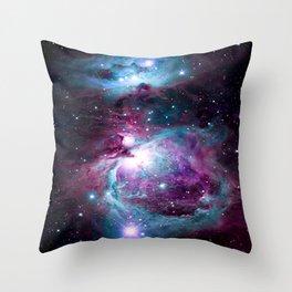 Dark Unicorn Orion Nebula Throw Pillow