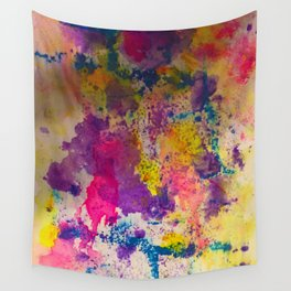 Water Color Fanatic Wall Tapestry