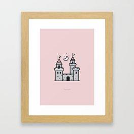 My Halfpint Castle Framed Art Print