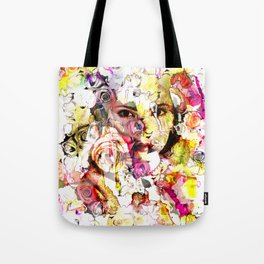 face of face Tote Bag