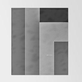 Shades of Grey Throw Blanket