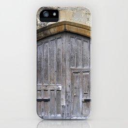 Oxford door 13 iPhone Case