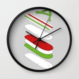 Slipper deconstruct Wall Clock