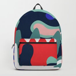 Abstract Floral Pattern II Backpack