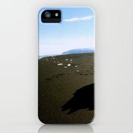 Jokulsarlon Beach, Iceland iPhone Case