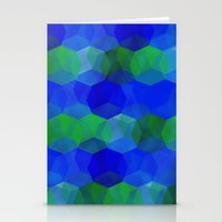 polygon Stationery Cards featuring Polygon by ArtsyWorks