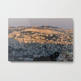 Jerusalem Living in Israel Metal Print