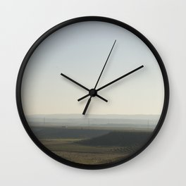 There and back VIII Wall Clock