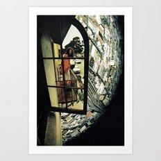 virtual mirror Art Print