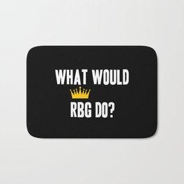 What Would RBG do? Bath Mat