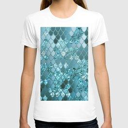 Mermaid Glitter Scales #4 #shiny #decor #art #society6 T-shirt