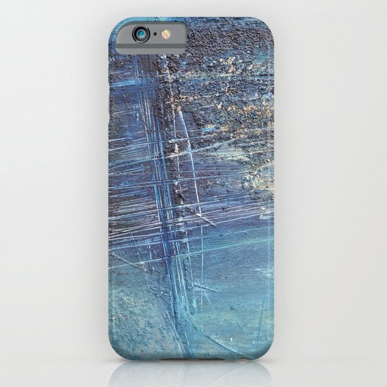 blue green abstract iPhone & iPod Case