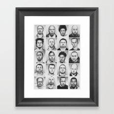 i am a man Framed Art Print