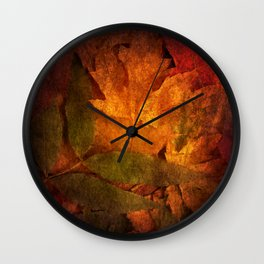 Cycle III Modern ART Seasonal Autumn Design  Wall Clock
