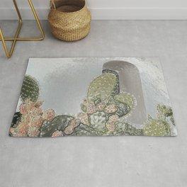 Plastic Wrap Cactus Rug