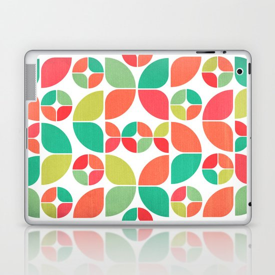 Vintage Summer Pattern Laptop & iPad Skin