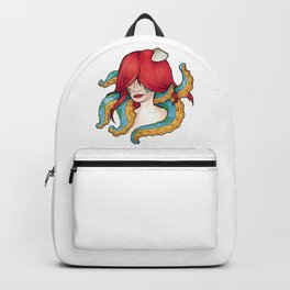 The mermaid and the octopus Backpack