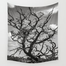 Ancient Tree, Survivor, Alive Wall Tapestry