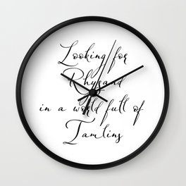 Looking for Rhysand Wall Clock