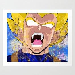 """You Hit My Bulma!"" Art Print"