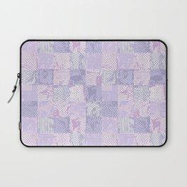 Purple woodcuts Laptop Sleeve