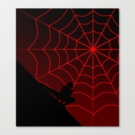 Spider Twilight Series - Miles Morales Spider-Man Canvas Print