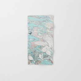 Marble - Mint Hand & Bath Towel