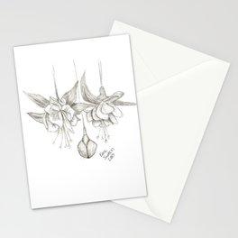 Fuschias Sketch Stationery Cards