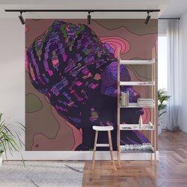 Woman with headscarf / kerchief Wall Mural