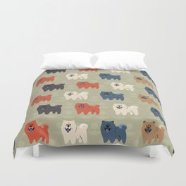 Chow Chow Duvet Cover