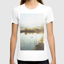 Autumn Lake Tranquility T-shirt
