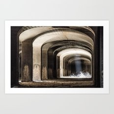 In the filter cells Art Print