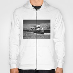 Point Reyes Shipwreck B&W Hoody